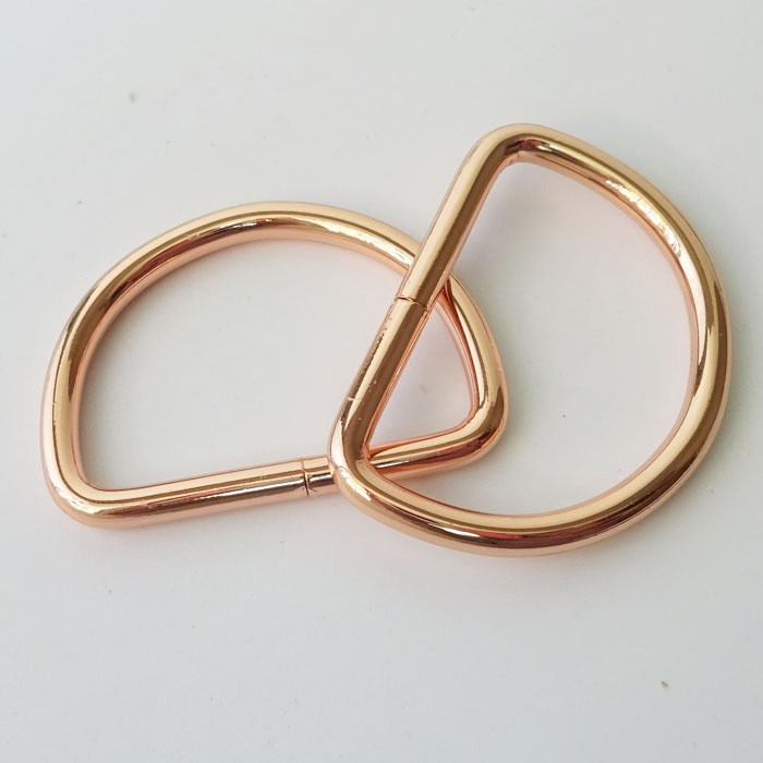 Metal Welded/non-welded D Ring D Buckle