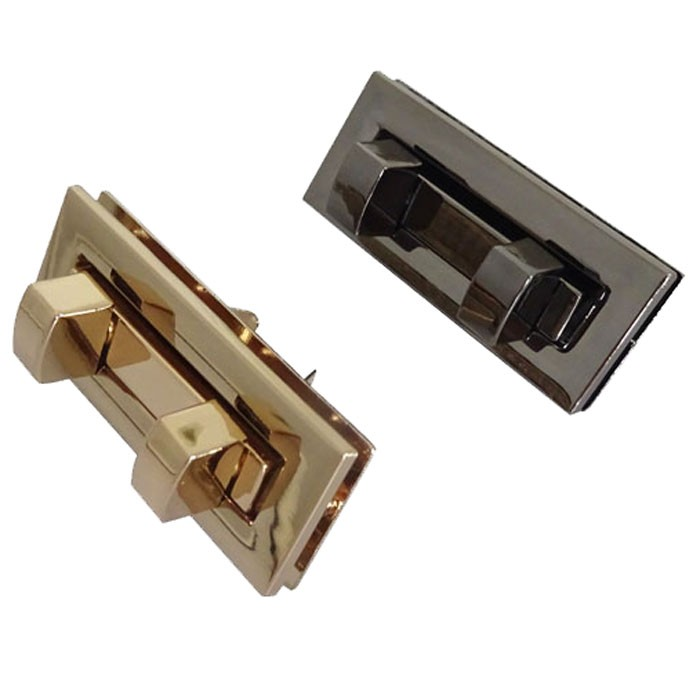 Gold Finished Turn Lock Edge Lock