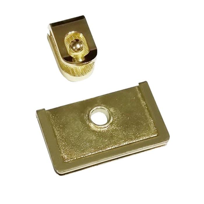 Gold Purse Lock Closures Edge Lock