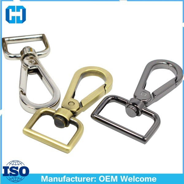 Bag Rectangle Swivel Eye Spring Hook