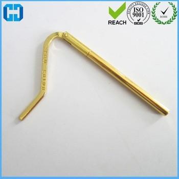 Customized Logo Spring Money Clip Bar