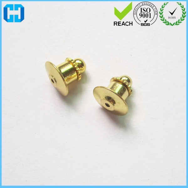 Gold Tie Tac Pin Back