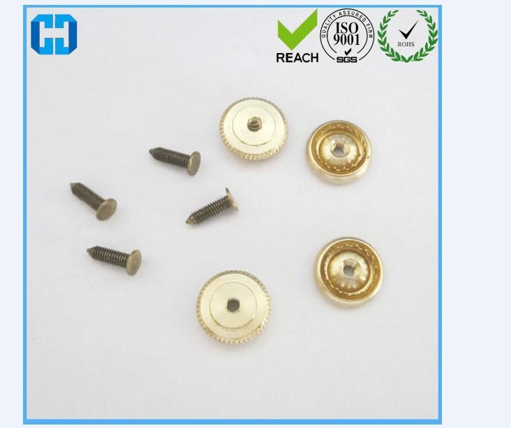Brass Screw Locking Pin Back Pin Keeper