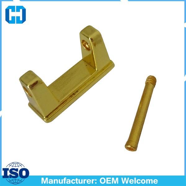 Gold Alloy Luggage Handle Holder